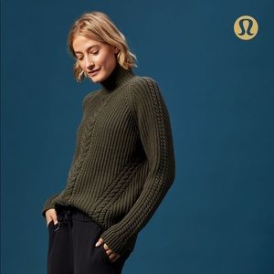 Lululemon Bring the Cozy Sweater